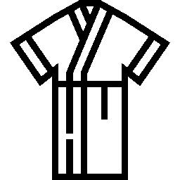 a digital icon of a bathrobe